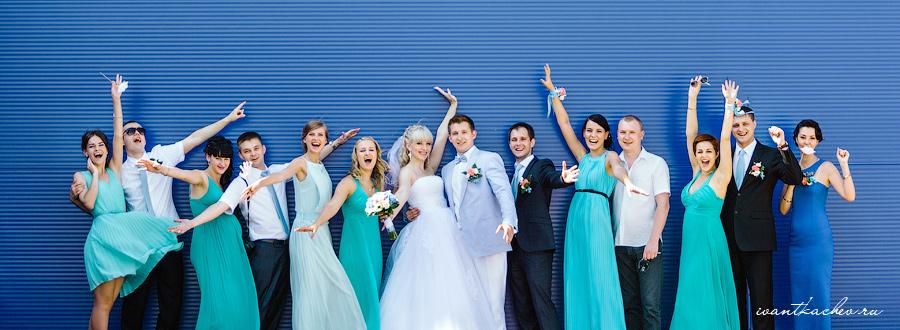 лучшее свадебное фото
