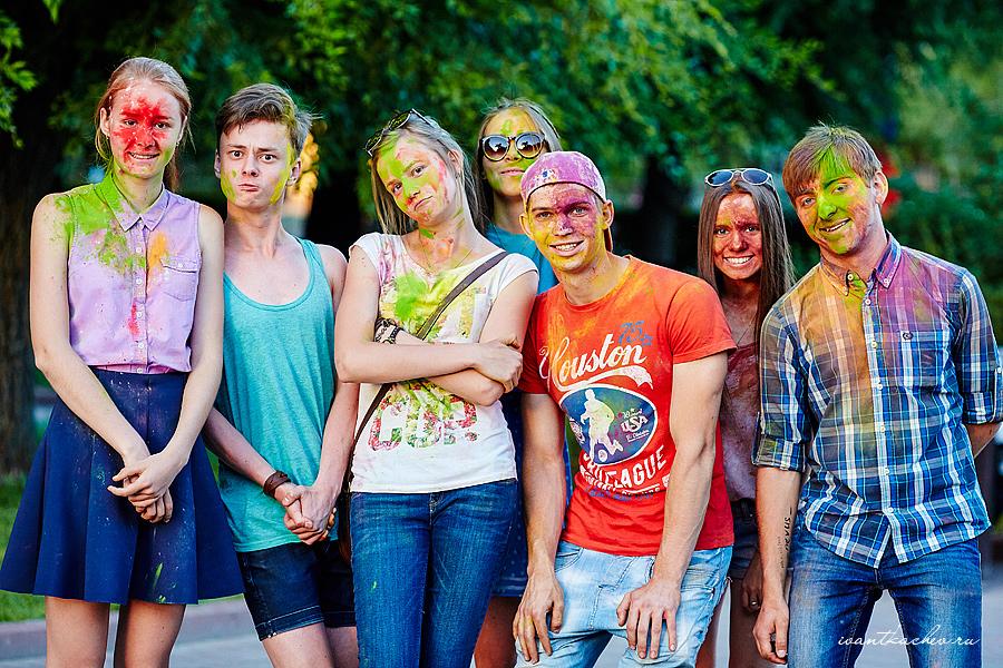 фестиваль Холи Волгоград лучшие фото