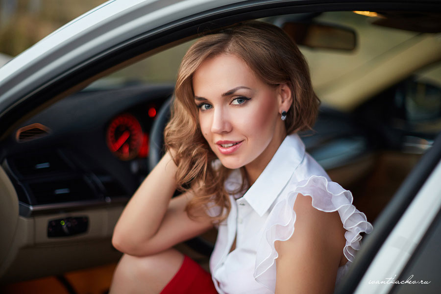 портретная фотосессия Волгоград, автоледи, лучшие фото